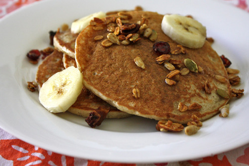 Pancakes vegan recipe rice almond milk